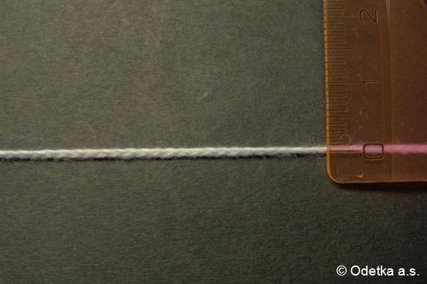 Knot bělený 1 mm 4160103120 50 m