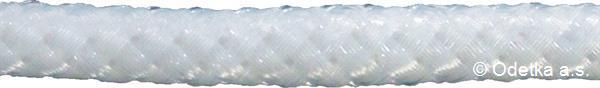 Stanová šňůra s vlascem 4 mm