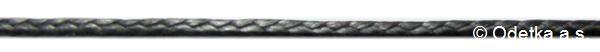 Dyneema 1,6 mm Coated černá 200 m