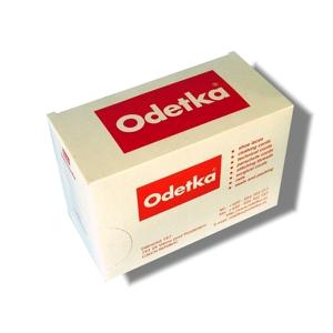 Tkaničky vycházkové bílé 162, 140 cm, 12 párů v krabičce