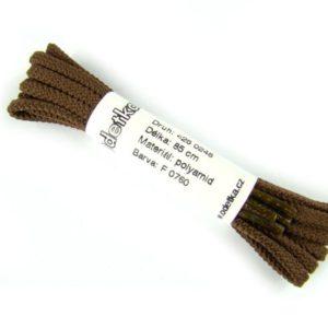 Tkanička Paris brown style 80 cm hnědá