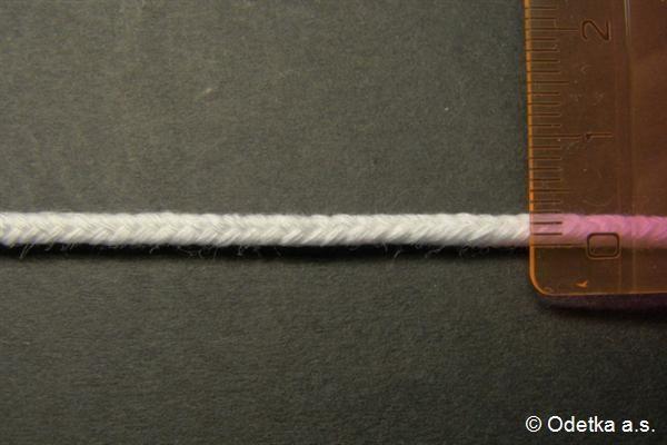 Knot bělený 3 mm 4260117400 50 m