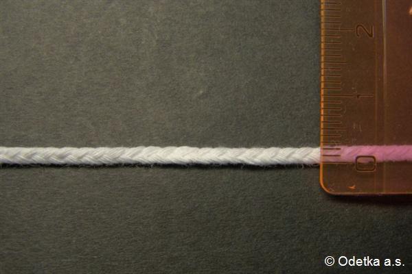 Knot bělený 2,5 mm 4160103330 50 m