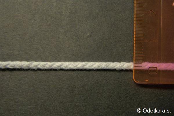 Knot bělený 2,5 mm 4160103360 10 m