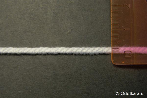 Knot bělený 2,5 mm 4160103300 50 m