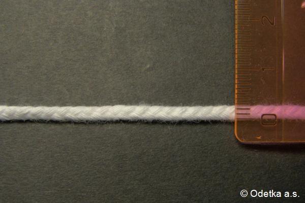 Knot bělený 3 mm 4160103390 50 m