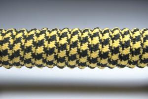 Tkanička Spirálka 90cm žluto-černá