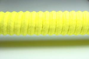 Tkanička Spirálka 110cm reflexní žlutá