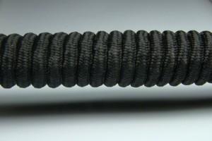 Tkanička Spirálka 90cm černá