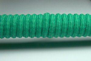 Tkanička Spirálka 90cm světle zelená