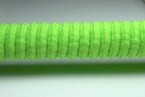 Tkanička Spirálka 70cm reflexní zelená