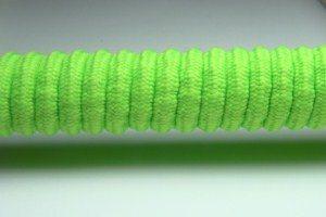 Tkanička Spirálka 110cm reflexní zelená