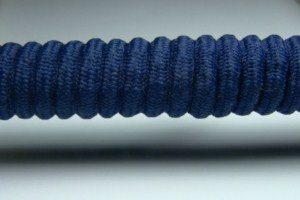 Tkanička Spirálka 90cm tmavě modrá