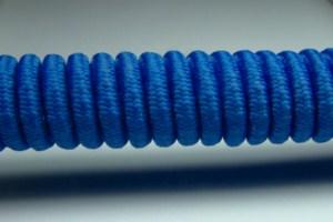 Tkanička Spirálka 90cm modrá