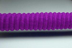 Tkanička Spirálka 90cm fialová