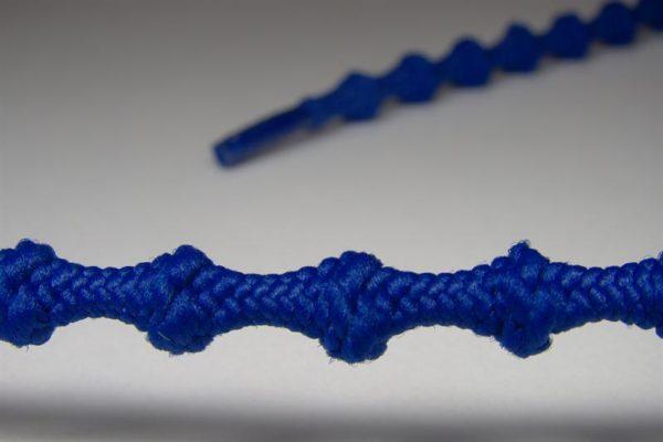 Tkanička Free-lace 60 cm modrá