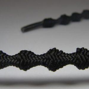 Tkanička Free-lace 50 cm černá