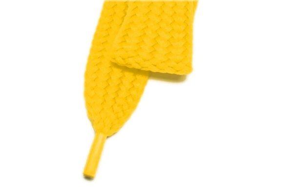 Tkanička Skate 120cm žlutá