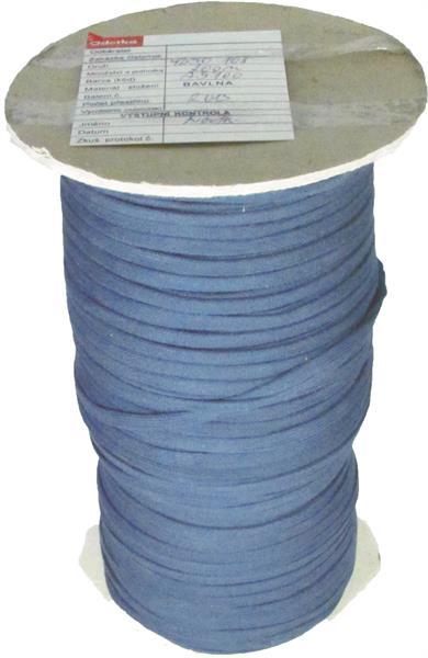 Oděvní šňůra 108 tmavá modrá