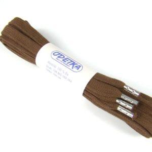 Tkanička Elegance brown middle 100 cm hnědá okoncovaná plechem
