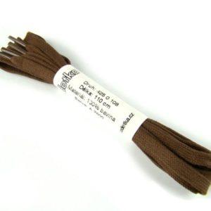 Tkanička Elegance brown middle 110 cm hnědá