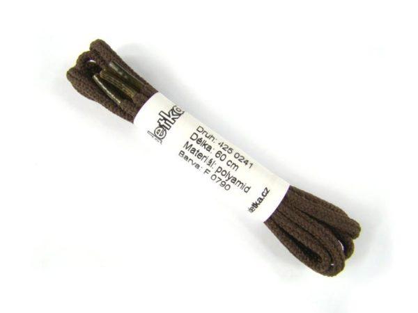 Tkanička Bejing brown low 60 cm hnědá