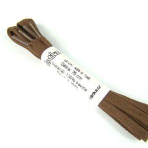 Tkanička Elegance brown middle 75 cm hnědá