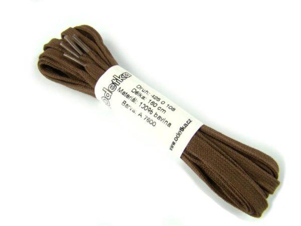 Tkanička Elegance brown middle 160 cm hnědá