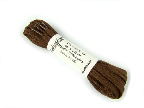 Tkanička Elegance brown middle 200 cm hnědá