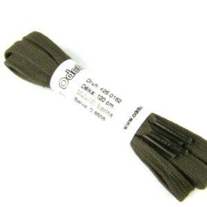 Tkanička Elegance black soft 120 cm vojenská zelená