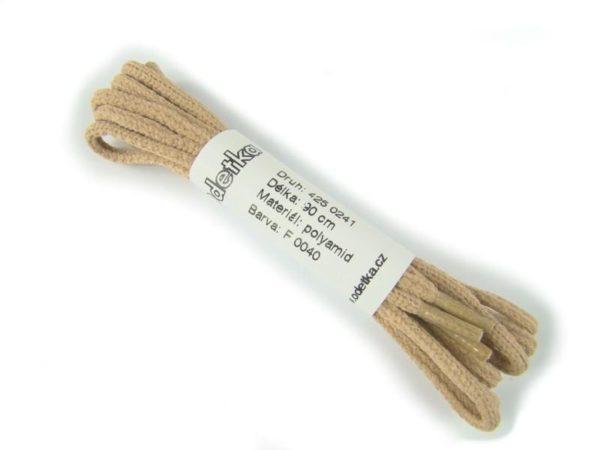 Tkanička Bejing crream low 90 cm béžová