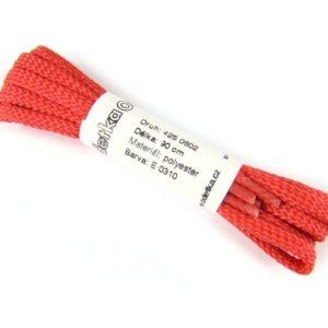 Tkanička Sport shiny red 90 cm červená